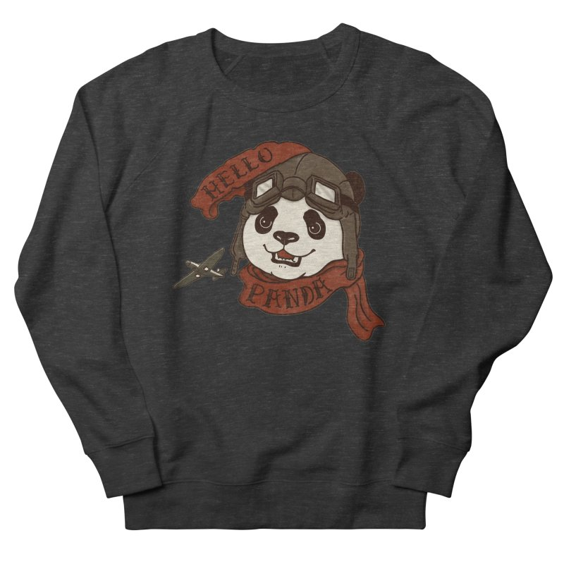 Panda Revolution EXTRA 2 C Men's French Terry Sweatshirt by xiaobaosg