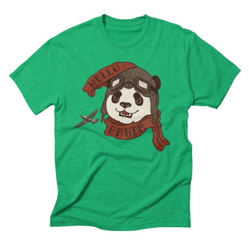 Panda Revolution EXTRA 2 C Men's Triblend T-Shirt by xiaobaosg