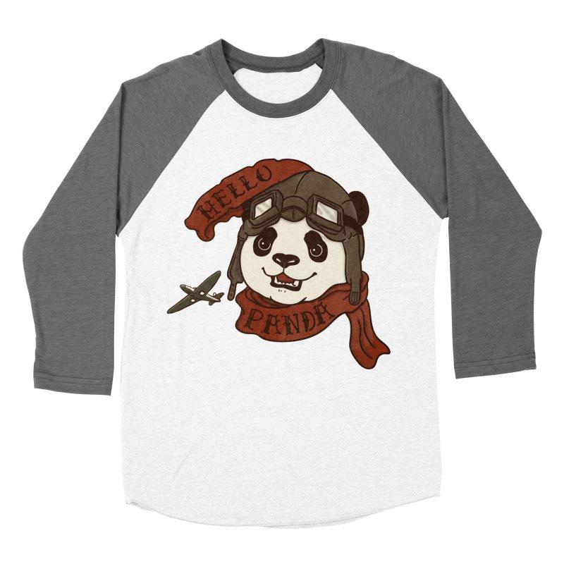 Panda Revolution EXTRA 2 C Women's Baseball Triblend T-Shirt by xiaobaosg
