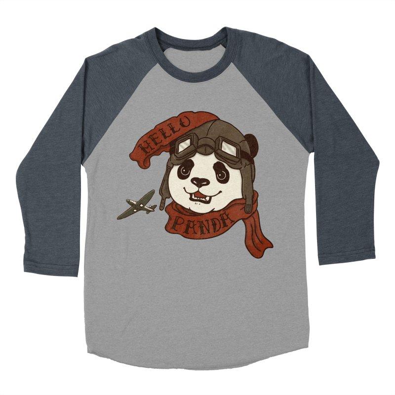 Panda Revolution EXTRA 2 C Men's Baseball Triblend Longsleeve T-Shirt by xiaobaosg