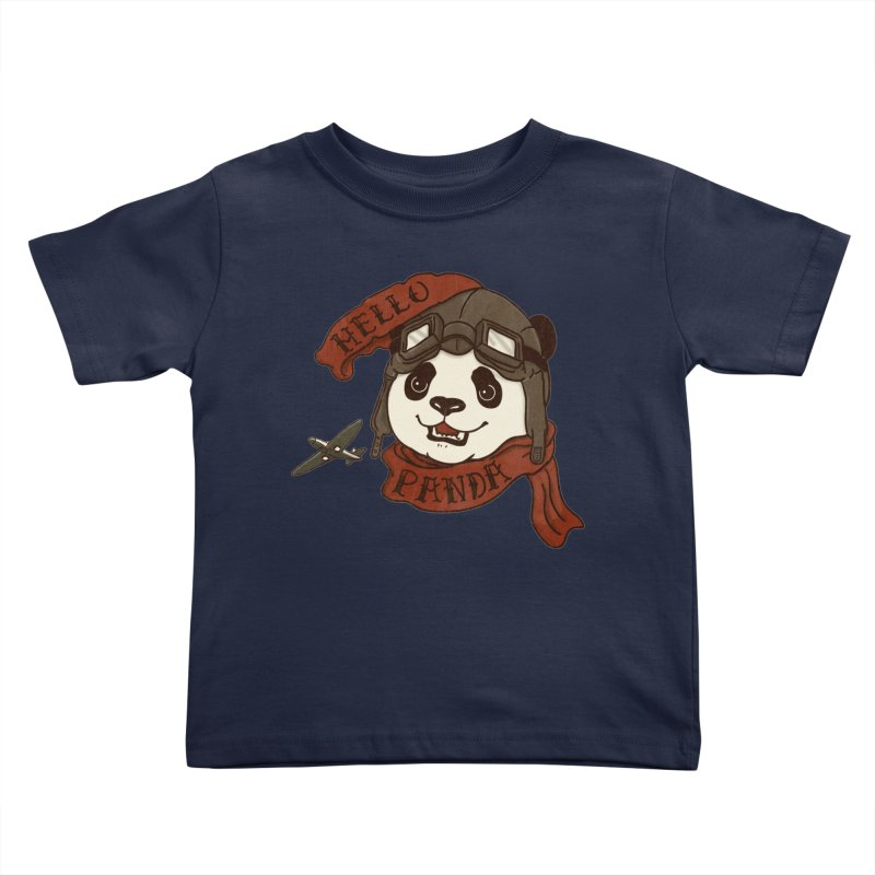 Panda Revolution EXTRA 2 C Kids Toddler T-Shirt by xiaobaosg