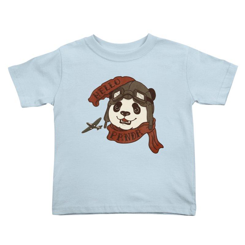 Panda Revolution EXTRA 2 C Kids Toddler T-Shirt by xiaobaosg