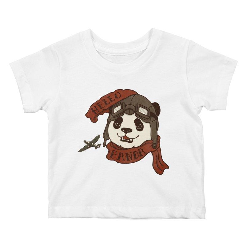 Panda Revolution EXTRA 2 C Kids Baby T-Shirt by xiaobaosg