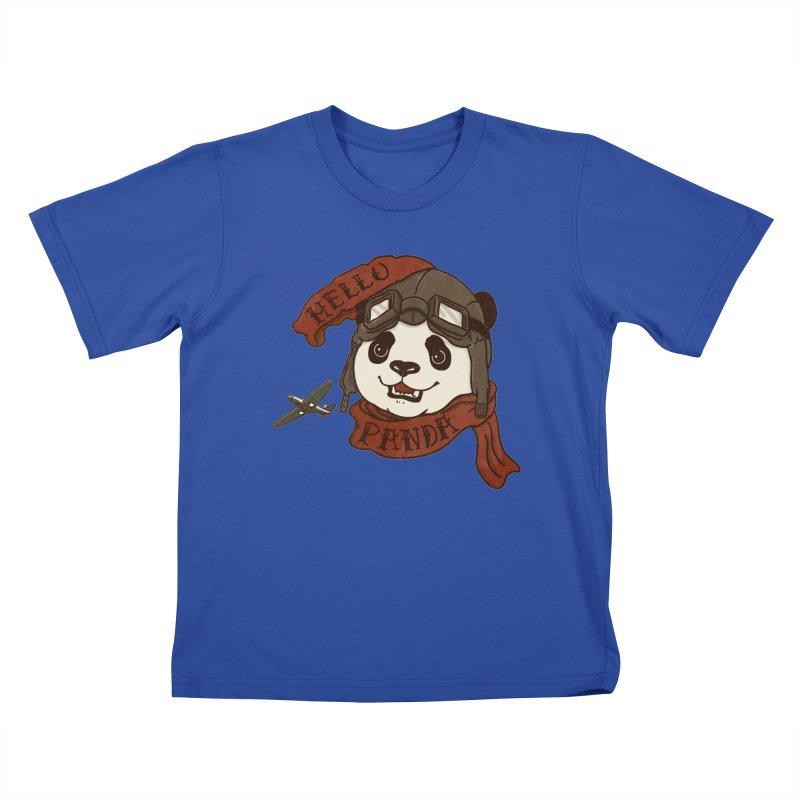Panda Revolution EXTRA 2 C Kids T-Shirt by xiaobaosg
