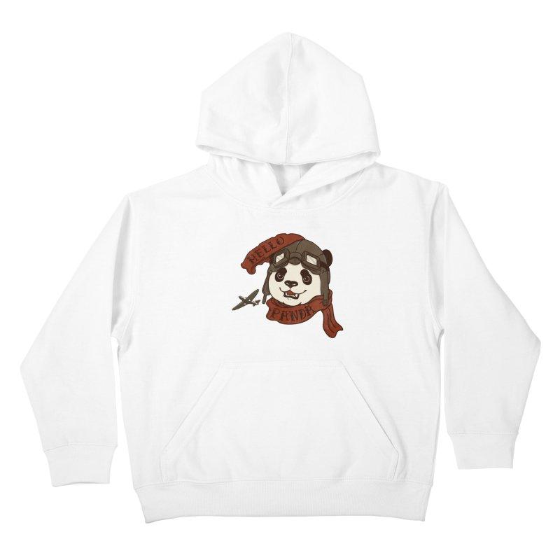 Panda Revolution EXTRA 2 C Kids Pullover Hoody by xiaobaosg
