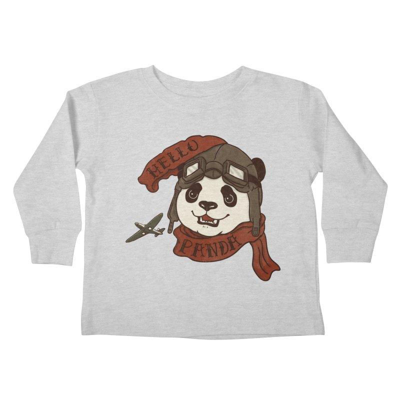 Panda Revolution EXTRA 2 C Kids Toddler Longsleeve T-Shirt by xiaobaosg