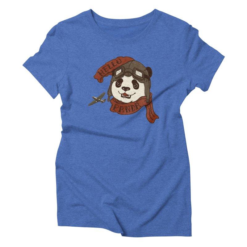 Panda Revolution EXTRA 2 C Women's Triblend T-Shirt by xiaobaosg
