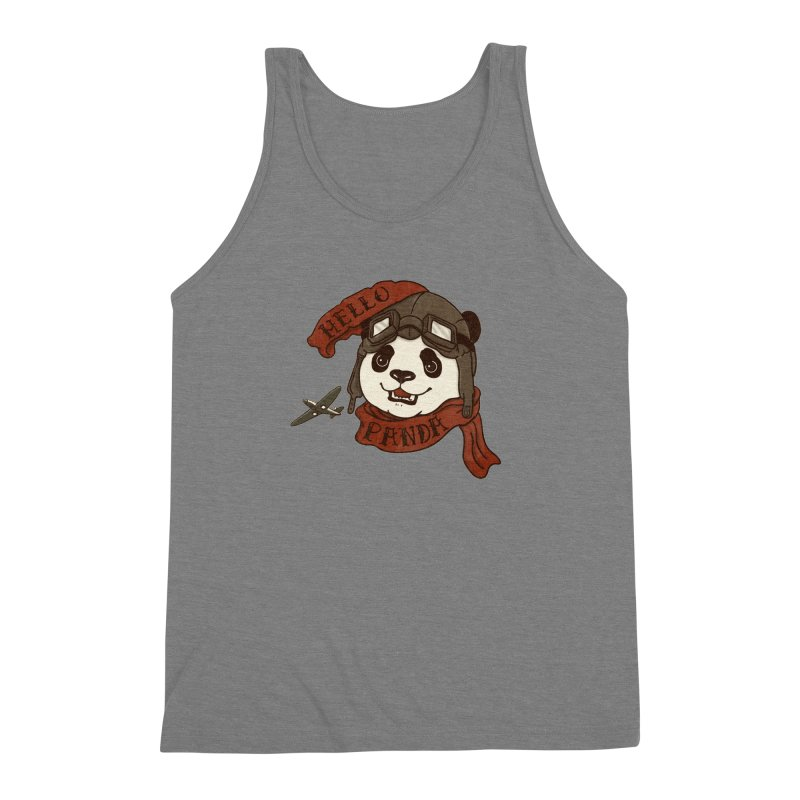 Panda Revolution EXTRA 2 C Men's Triblend Tank by xiaobaosg