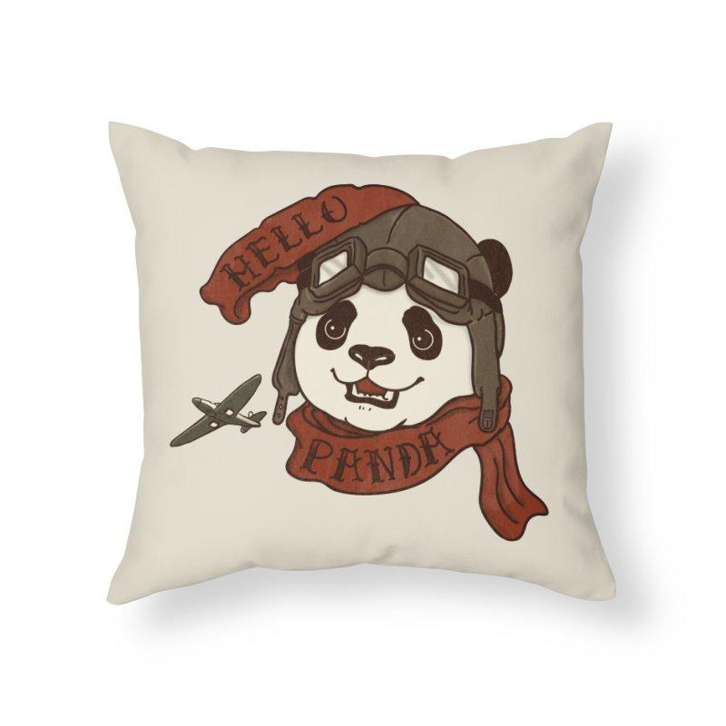 Panda Revolution EXTRA 2 C Home Throw Pillow by xiaobaosg