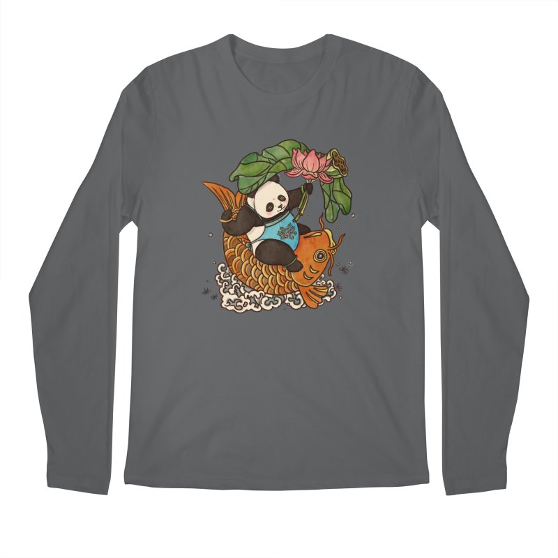 Abundance year after year Men's Longsleeve T-Shirt by xiaobaosg