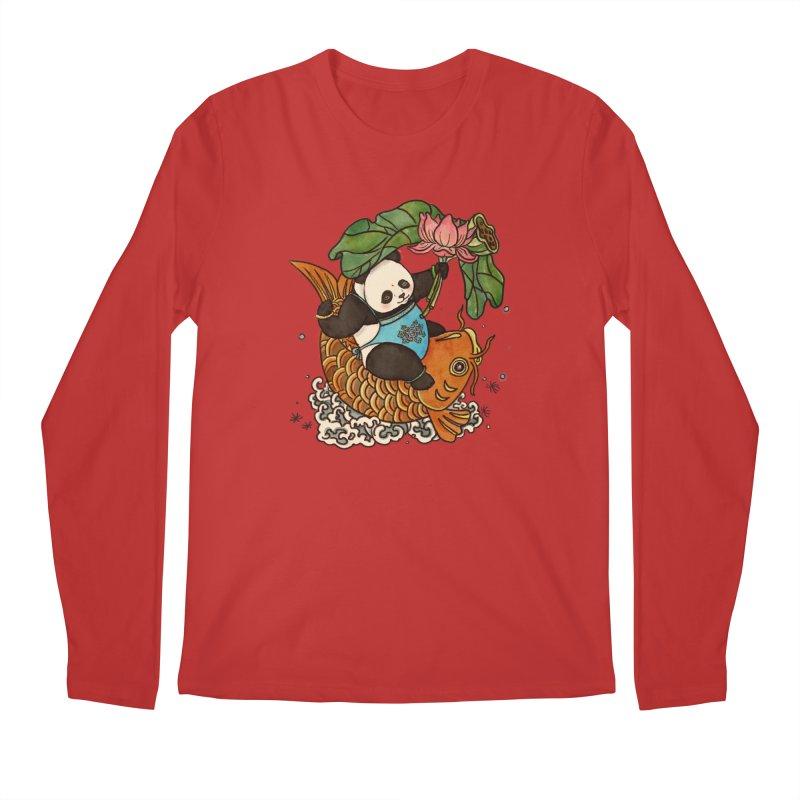 Abundance year after year Men's Regular Longsleeve T-Shirt by xiaobaosg