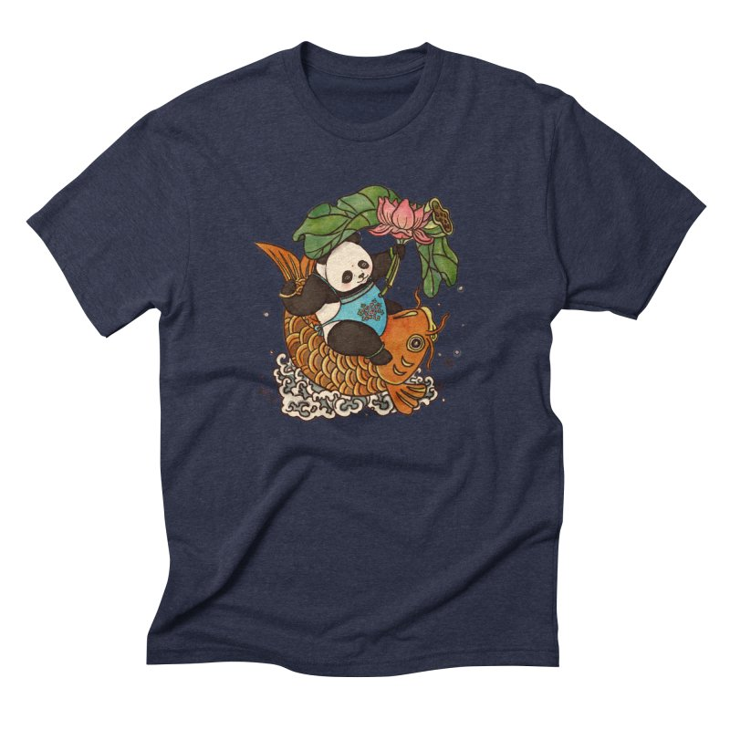 Abundance year after year Men's Triblend T-Shirt by xiaobaosg