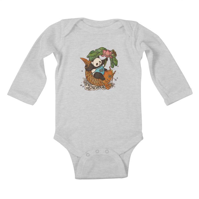 Abundance year after year Kids Baby Longsleeve Bodysuit by xiaobaosg