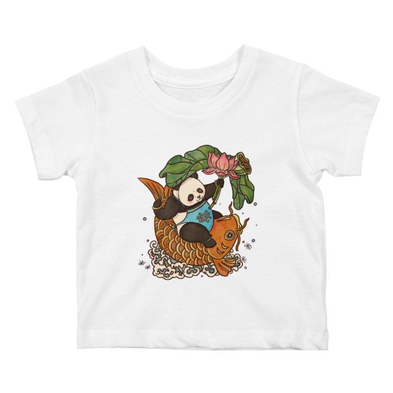 Abundance year after year Kids Baby T-Shirt by xiaobaosg