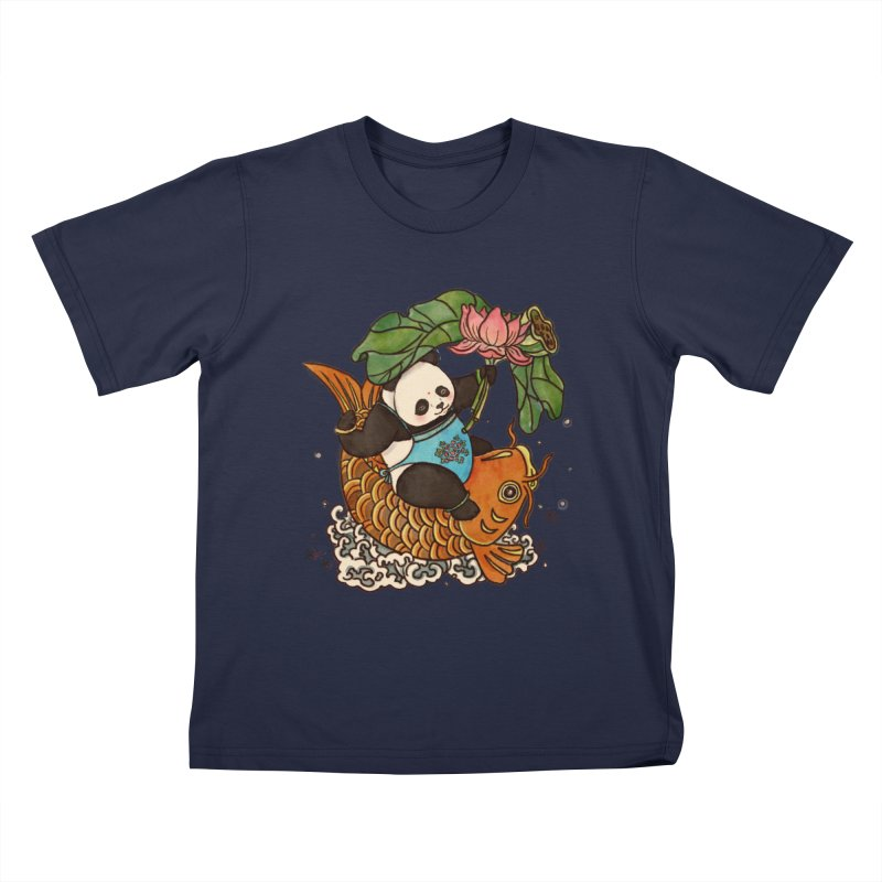 Abundance year after year Kids T-Shirt by xiaobaosg