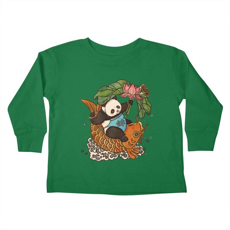Abundance year after year Kids Toddler Longsleeve T-Shirt by xiaobaosg