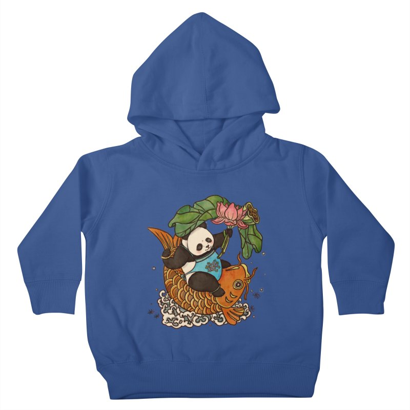 Abundance year after year Kids Toddler Pullover Hoody by xiaobaosg