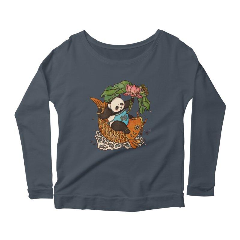 Abundance year after year Women's Scoop Neck Longsleeve T-Shirt by xiaobaosg