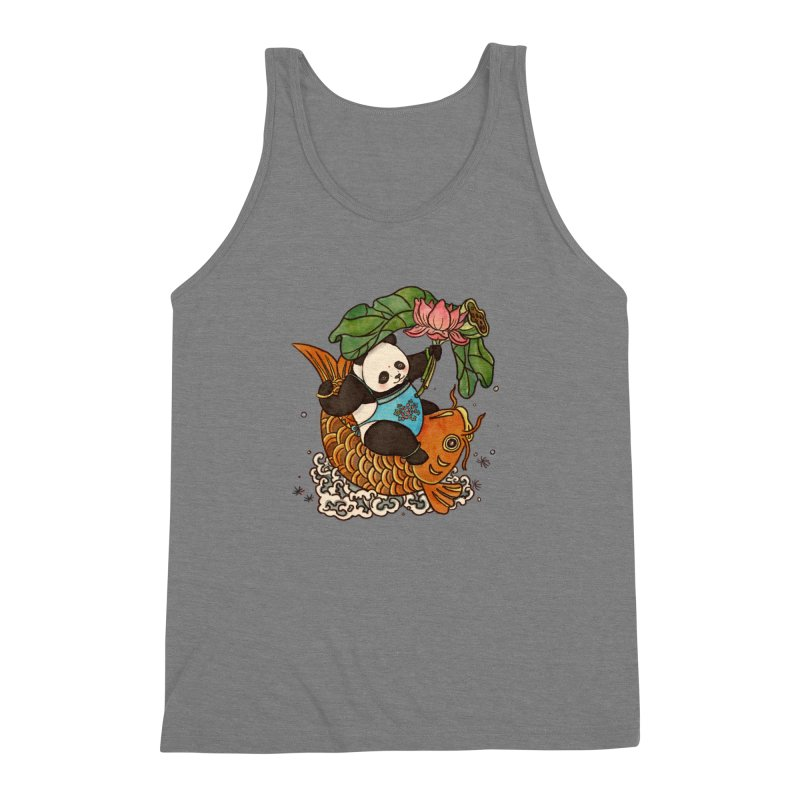 Abundance year after year Men's Triblend Tank by xiaobaosg