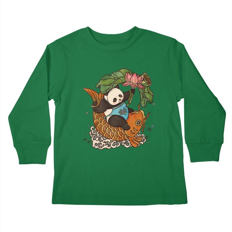 Abundance year after year Kids Longsleeve T-Shirt by xiaobaosg