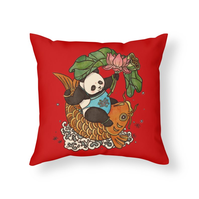 Abundance year after year Home Throw Pillow by xiaobaosg
