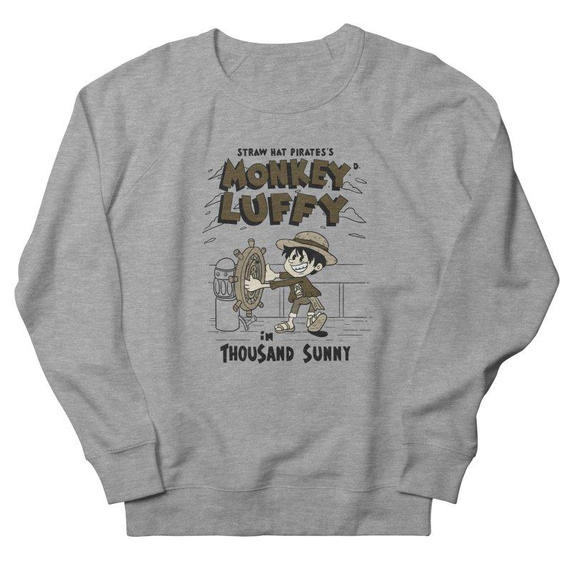 Steamboat Luffy Classic Monotone Ver Women's Sweatshirt by xiaobaosg
