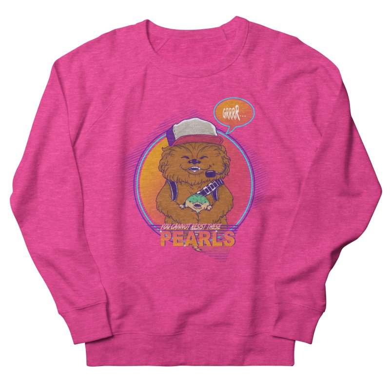 You cannot resist these pearls Women's Sweatshirt by xiaobaosg