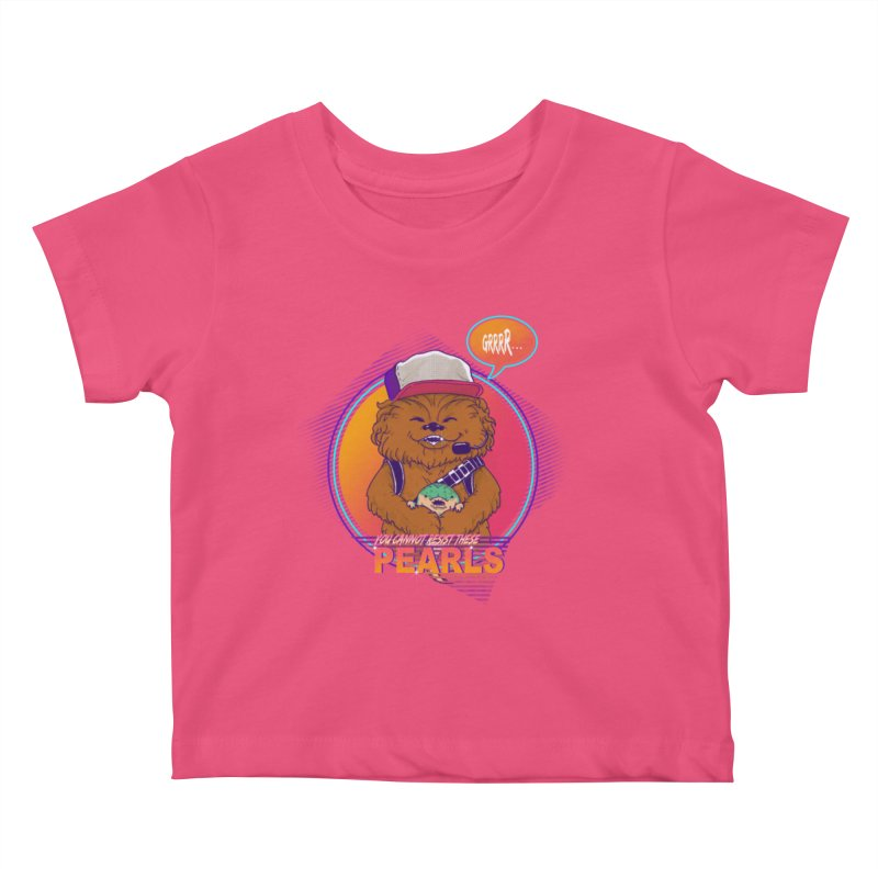You cannot resist these pearls Kids Baby T-Shirt by xiaobaosg