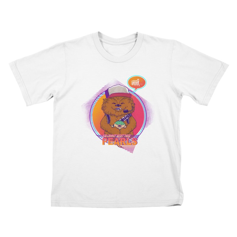 You cannot resist these pearls Kids T-Shirt by xiaobaosg