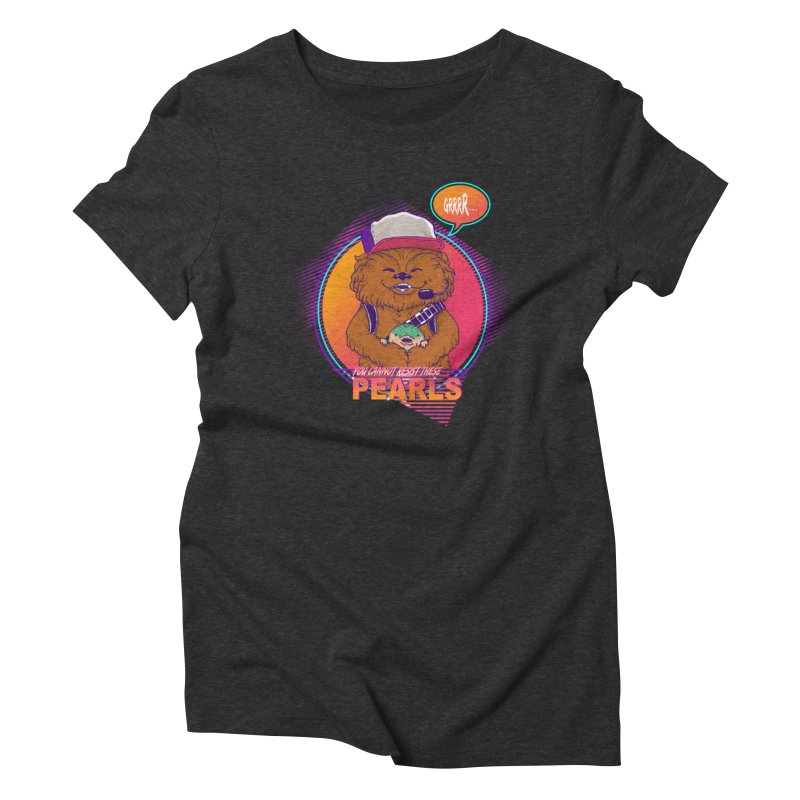 You cannot resist these pearls Women's Triblend T-Shirt by xiaobaosg