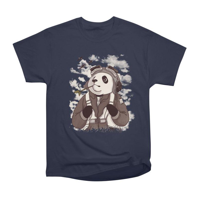 Keep Us Flying Men's Heavyweight T-Shirt by xiaobaosg