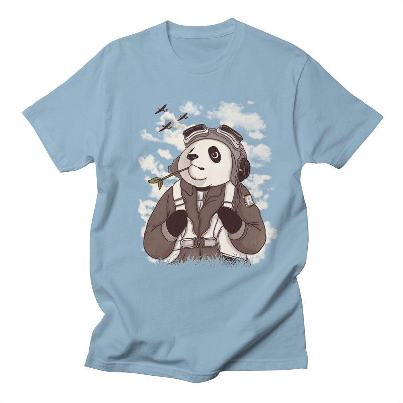 Keep Us Flying Men's Regular T-Shirt by xiaobaosg