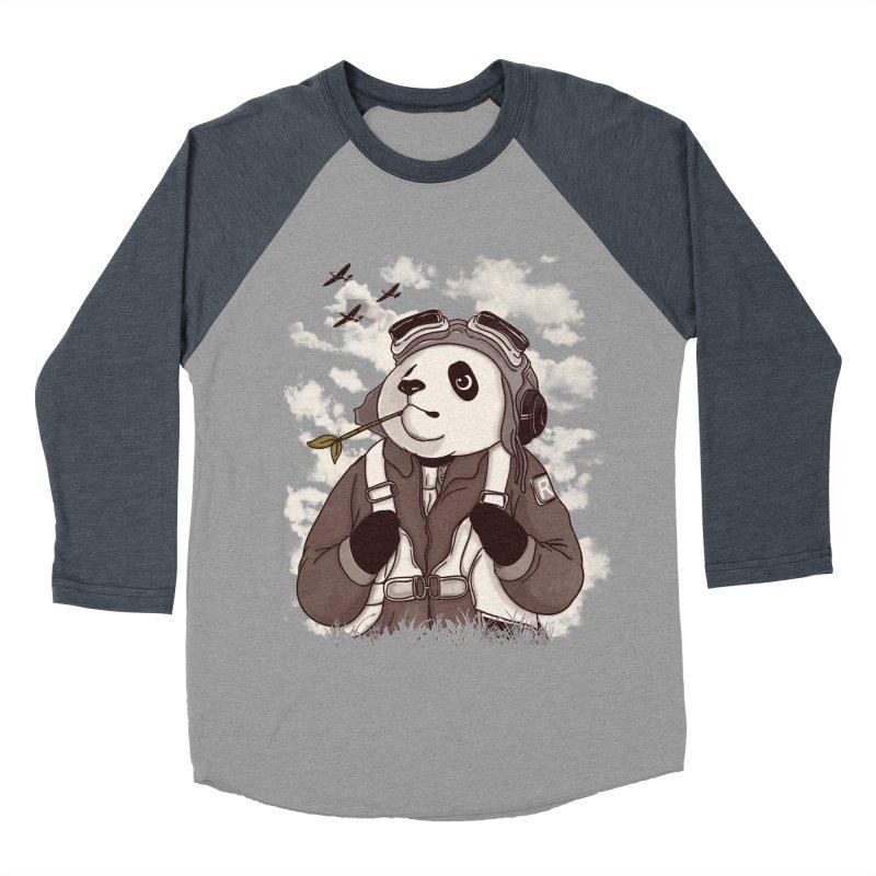 Keep Us Flying Women's Baseball Triblend Longsleeve T-Shirt by xiaobaosg