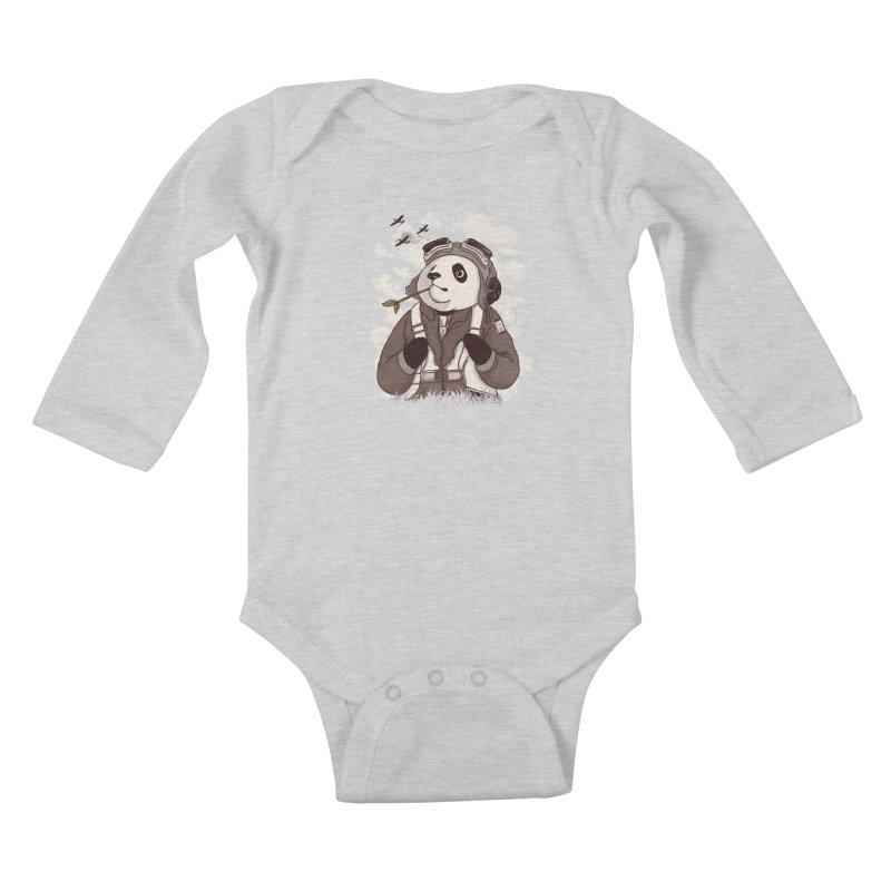 Keep Us Flying Kids Baby Longsleeve Bodysuit by xiaobaosg