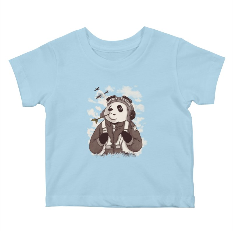Keep Us Flying Kids Baby T-Shirt by xiaobaosg