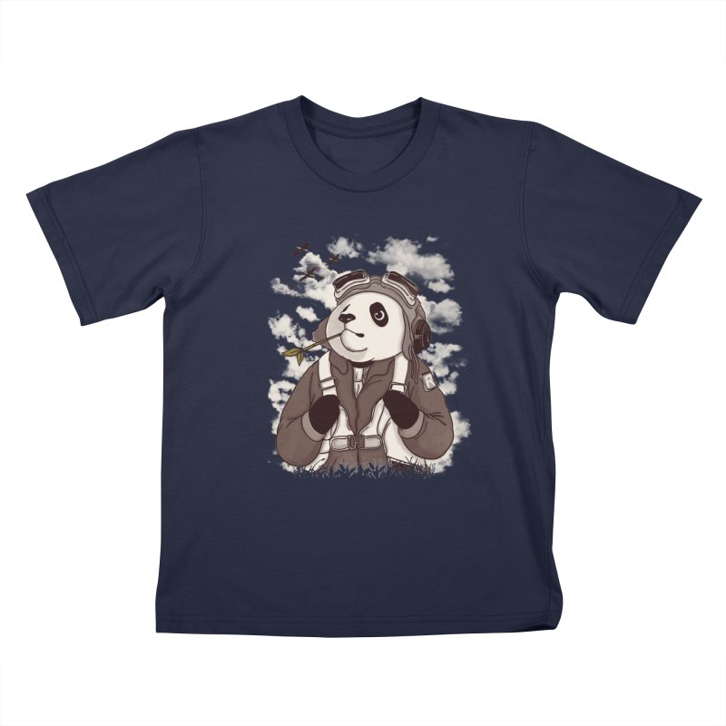 Keep Us Flying Kids T-Shirt by xiaobaosg