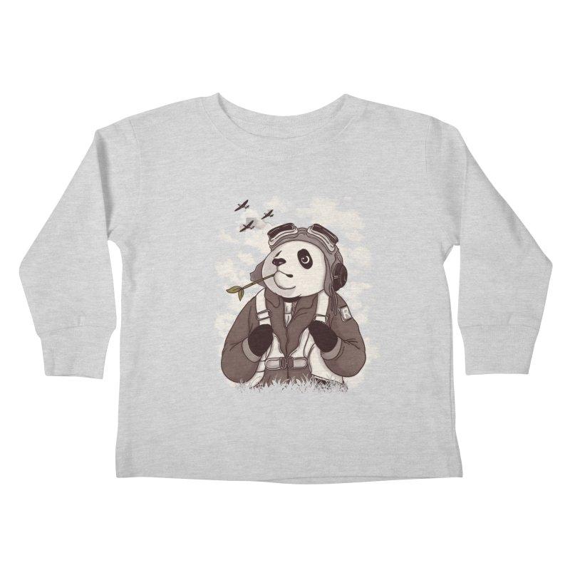 Keep Us Flying Kids Toddler Longsleeve T-Shirt by xiaobaosg