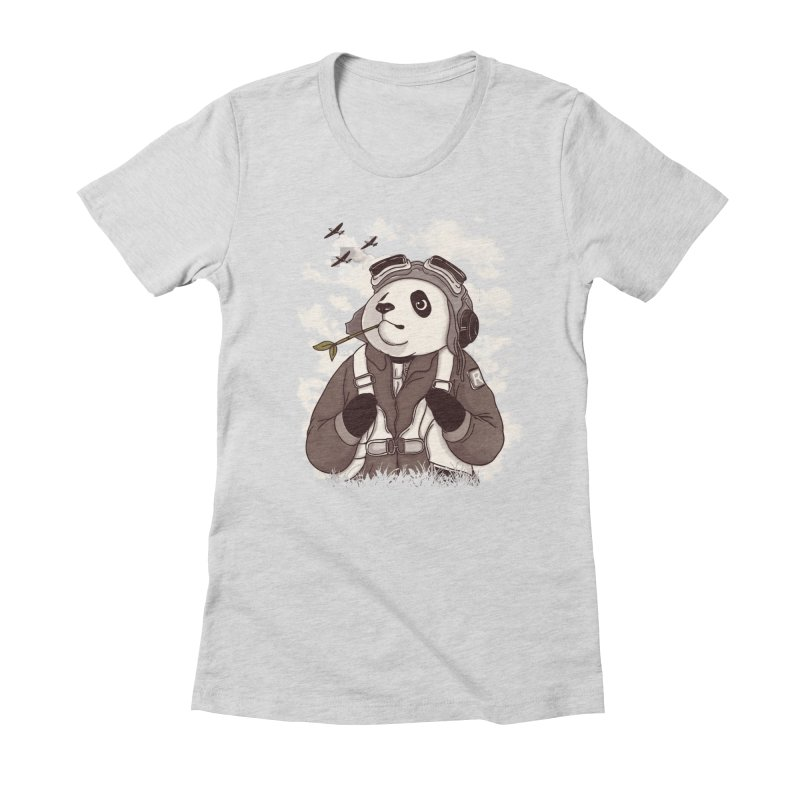 Keep Us Flying Women's Fitted T-Shirt by xiaobaosg