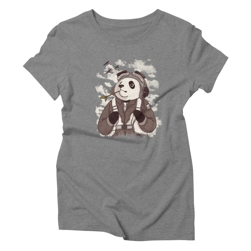 Keep Us Flying Women's Triblend T-Shirt by xiaobaosg