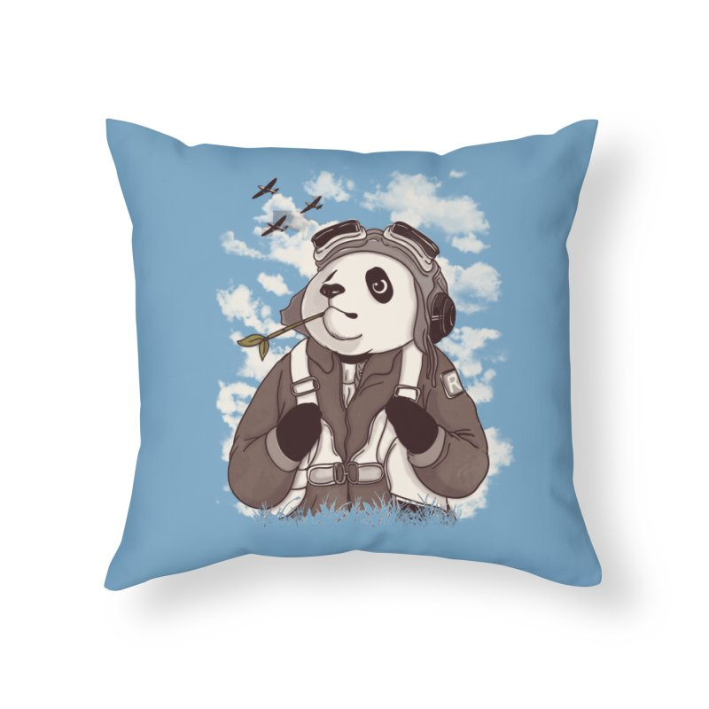 Keep Us Flying Home Throw Pillow by xiaobaosg