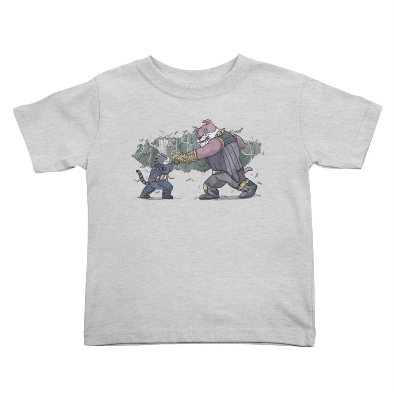Against the Titan Kids Toddler T-Shirt by xiaobaosg