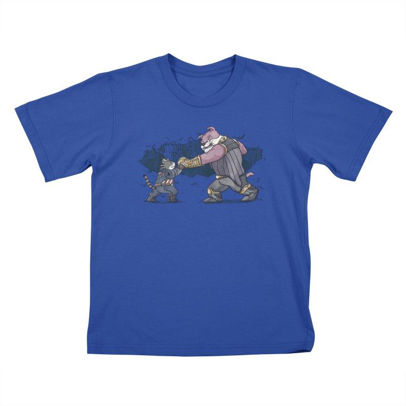 Against the Titan Kids T-Shirt by xiaobaosg