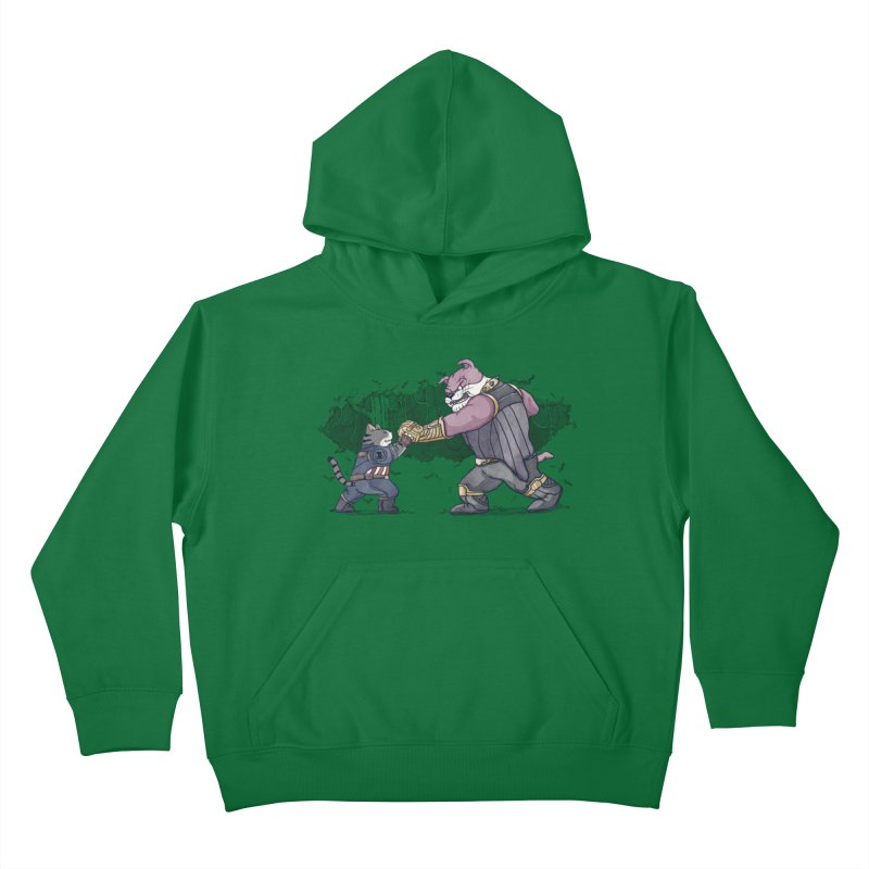 Against the Titan Kids Pullover Hoody by xiaobaosg