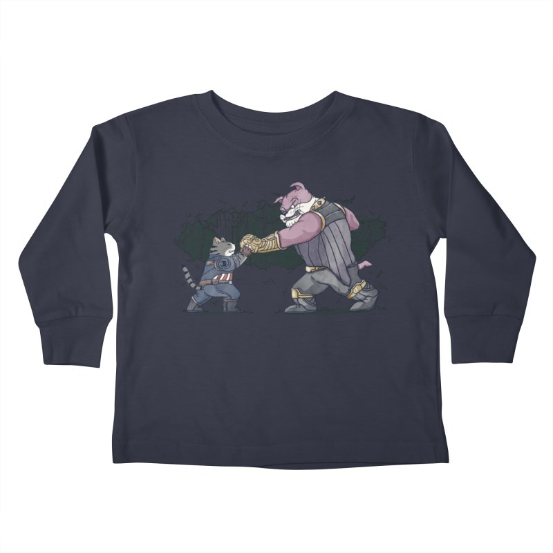 Against the Titan Kids Toddler Longsleeve T-Shirt by xiaobaosg