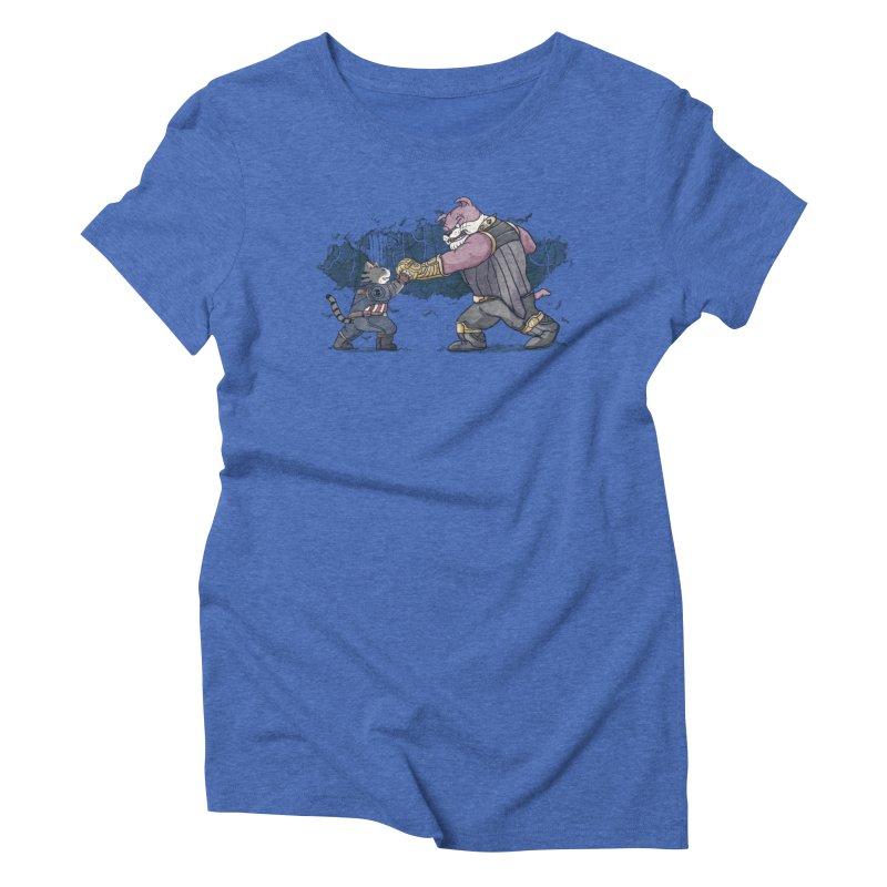 Against the Titan Women's Triblend T-Shirt by xiaobaosg