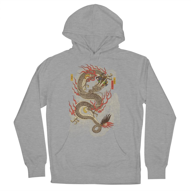 The Dragon Trainer Women's French Terry Pullover Hoody by xiaobaosg