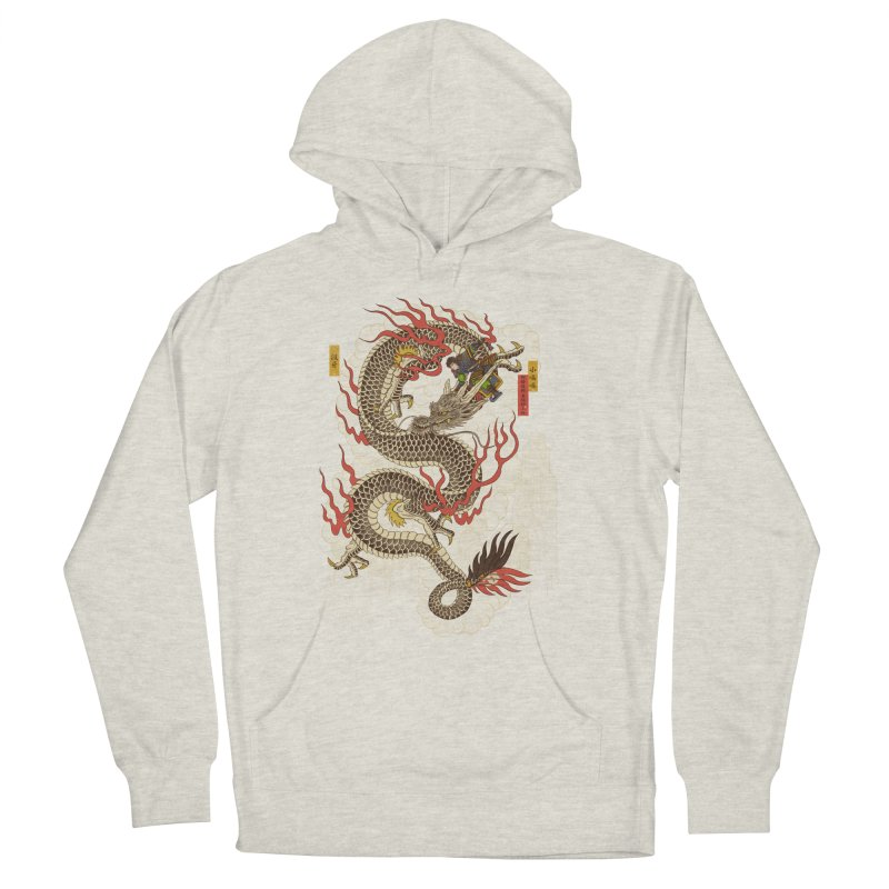 The Dragon Trainer Men's French Terry Pullover Hoody by xiaobaosg