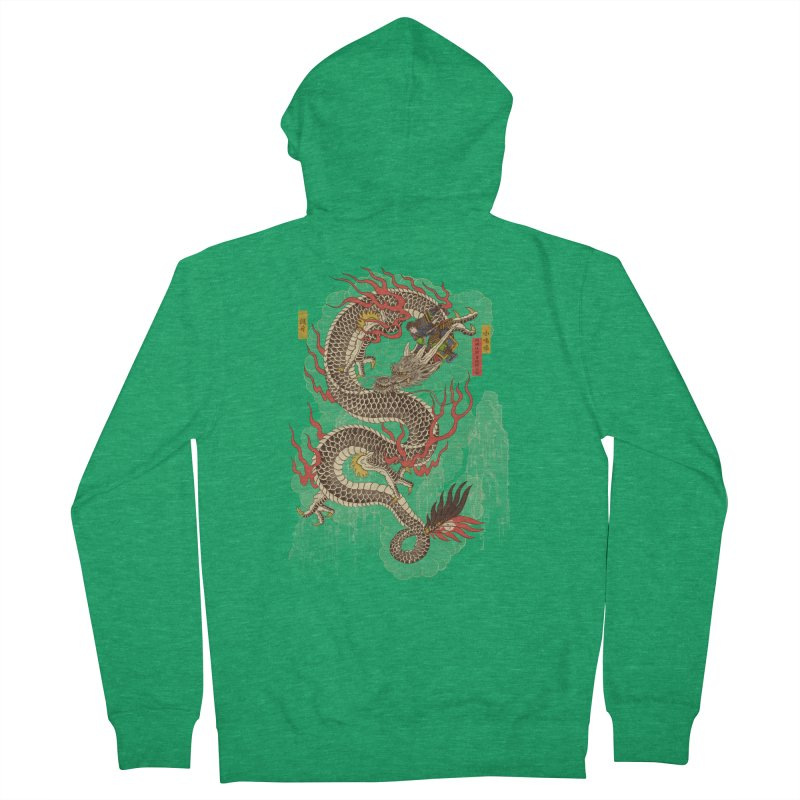 The Dragon Trainer Women's French Terry Zip-Up Hoody by xiaobaosg