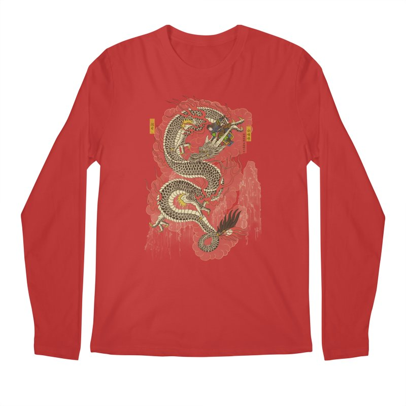 The Dragon Trainer Men's Regular Longsleeve T-Shirt by xiaobaosg