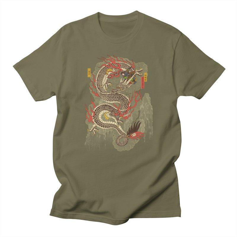 The Dragon Trainer Men's Regular T-Shirt by xiaobaosg
